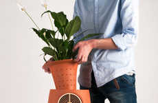 Decorative Air Purifiers - The Aeris + Altorve Lab Fabrici Pieces Clean Air in a Floral Fashion