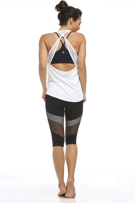 Mesh Fitness Fashion - Fabletics' Latest Activewear Collection Shows Off Some Skin for Summer