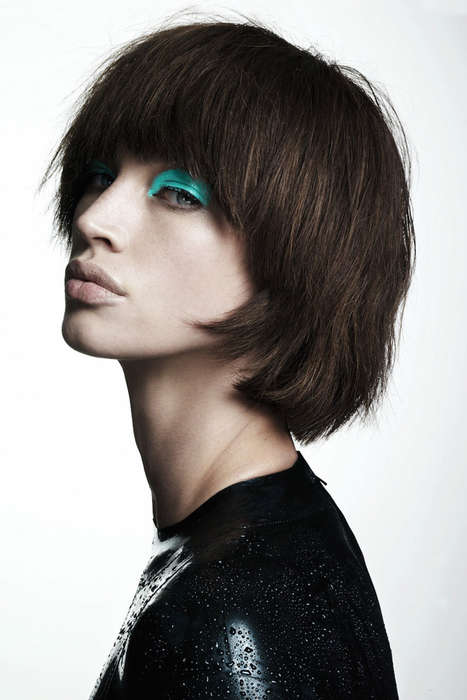 Chopped Hair Editorials - S Moda Magazine's Corto O Largo Story Shows Hair Versatility