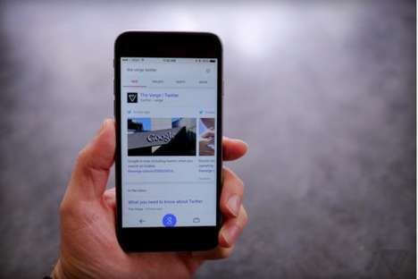 Social Media Search Results - The Google Mobile Search Will Now Display Real-Time Tweets