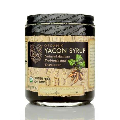 Root Vegetable Sweeteners - This Yacon Syrup is a Health Conscious Organic Sweetener Alternative