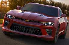 Turbocharged Muscle Cars - The 2016 Chevrolet Camaro Offers Great Fuel Economy