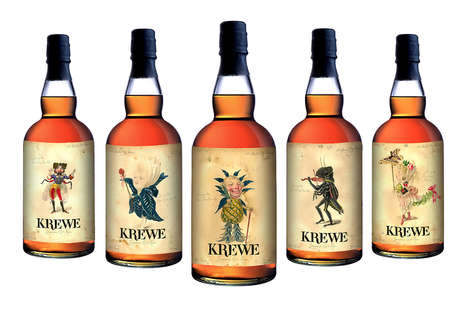 Whimsical Rhum Branding - Cane Land Distilling Company's Brand Identity is Fairy Tale Themed
