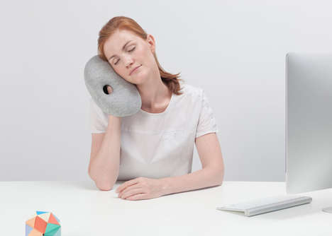 15 Versatile Travel Pillows - From Transformative Scarf Cushions to Futuristic Support Pillows