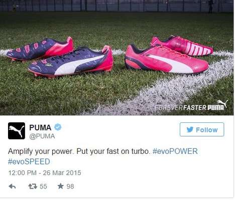 Sporty Social-Media Marketing - Puma Uses Periscope to Promote Its #ForeverFaster Twitter Campaign