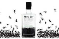 Insect-Infused Alcohol - This New Type of English Gin is Made with 62 Ants Per Bottle