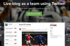 Collaborative Coverage Tools - BeatStrap Helps Teams with Live Blogging on Twitter