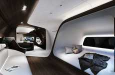 Car-Inspired Aircraft Cabins - The Mercedes Benz and Lufthansa Cabin Celebrates German Design