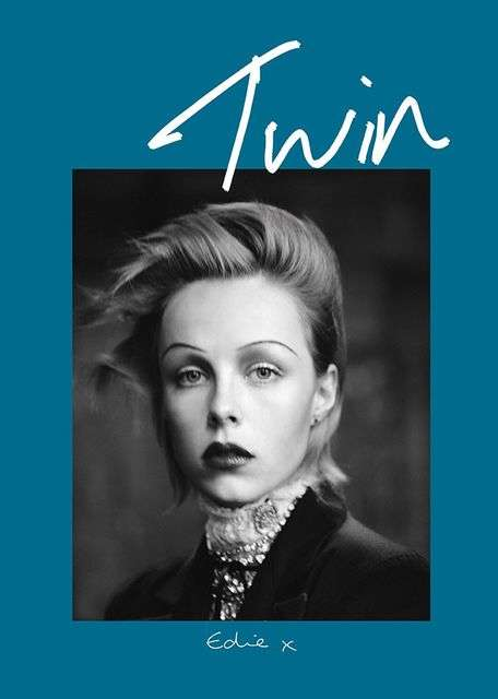 Framed Fashion Photoshoots - The Twin Magazine Model Covers Pair Images with Chic Borders