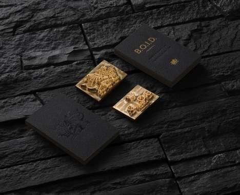 Opulent Business Card Branding