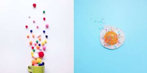 Minimalist Colorful Photography - Aurelie Cerise Plays with Negative Space and Whimsical Hues