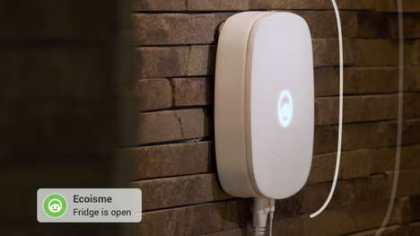 Innovative Energy Sensors - This Energy-Efficient Home Device Keeps Detailed Track of Consumption