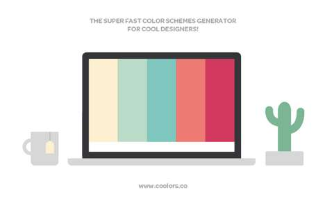 Color Scheme Generators - 'Coolers' is a Website That Helps You Choose the Ideal Shade for Any Room