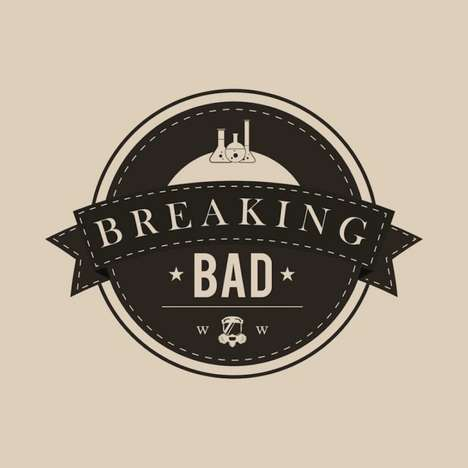 Hipster TV Show Logos - Mainger's Cine-Hipsters Series Pays Homage to Famous Film and TV Titles