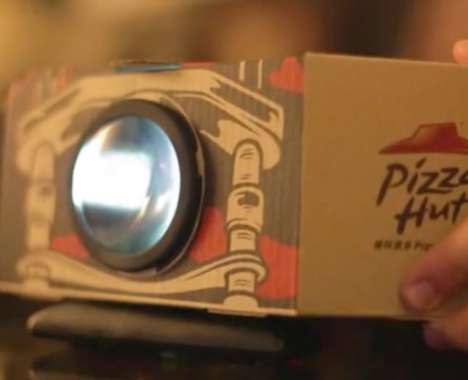 Pizza Box Projectors
