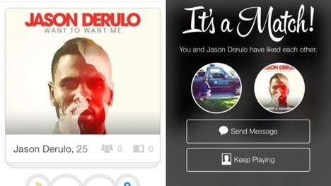 Dating App Marketing Campaigns - Jason Derulo Recently Launched a New Video Through Tinder