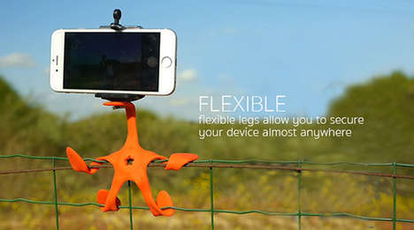 Cling-On Camera Mounts - GekkoPod Can Wrap Its Flexible Claws Around Almost Anything