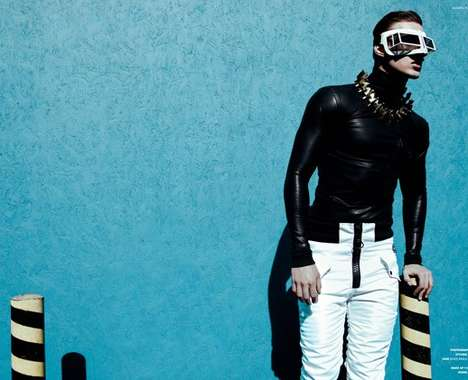 Futuristic Urban Menswear