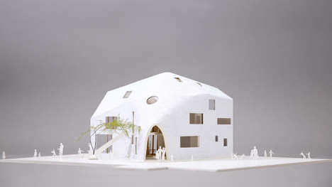 Draped Roof Residences - The Clover House by MAD Architects Will be a Whimsical Kindergarten School