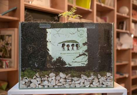 Tree-Sprouting Books - Argentinean Publishers Have Designed a Picture Book That Grows into a Tree