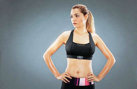 Sleek Smart Bras - The Sensilk Fight Tech Bra Closely Considers Fit