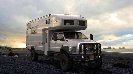 Remote Exploration Vehicles - The Earthroamer XV-HD is Designed For Off-Grid Exploration