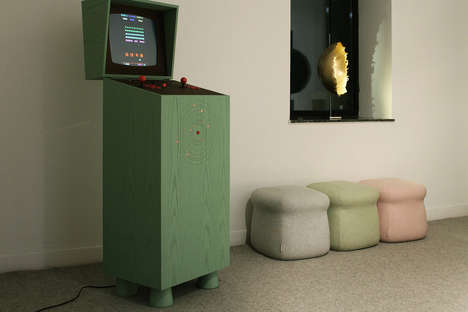 Concealed Arcade Cabinets - Pixelkabinett 42 is a Cleverly Hidden Home Arcade System
