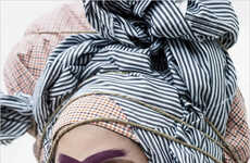 Chic Headwrap Editorials