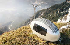 Solar-Powered Micro Homes - The New 'Ecocapsule' Homes Make It Easy to Live Off the Grid
