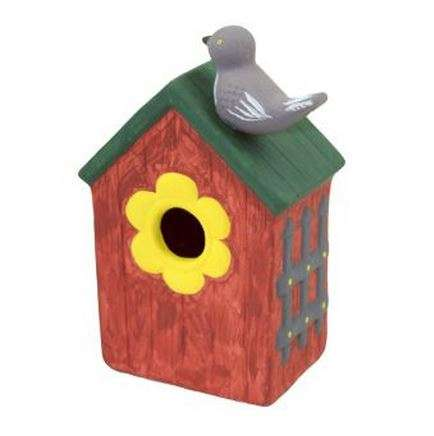 Birdhouse Design Kits - Hobbycraft's Craft Set Lets Paint Their Own Bird Box