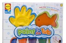 Bathtub Artist Kits - ALEX Toy's Paint in the Tub Playset Makes for an Easy Clean Up