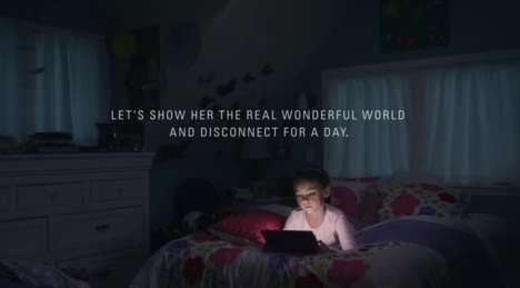 Technology Detox Campaigns - Cabela's Encourages a Break from Technology with 'Disconnect Day'