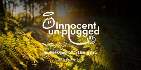 Unplugged Forest Festivals - Innocent Unplugged is a Tech-Free Retreat in the British Countryside