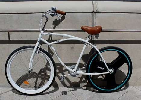 Electric Bike Wheels - The Centinel Wheel Turns Your Bike Into an e-Bike