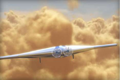 Planet-Exploring Inflatable Planes - Northrop Grumman Designs a Way to Skim Venus's Upper Atmosphere