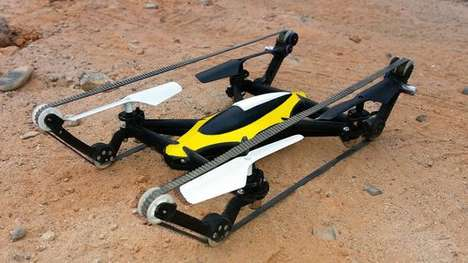 Tank-Inspired Drones - The B-Unstoppable Drone Has Tank-Like Treads