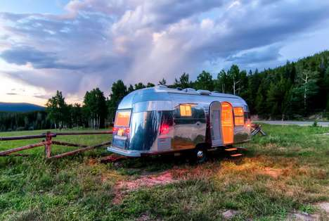 48 Innovative Mobile Homes - From Rustic Trailer Residences to Mobile Log Cabins