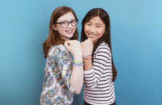 Smart Friendship Bracelets - Minecraft Inspired the Programmable Jewelbots for Tween Girls