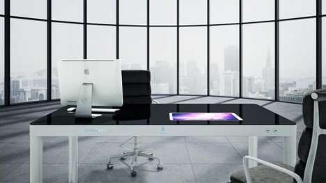 Touchscreen Table Solutions - Sharetable Converts a Traditional Desktop Into a Data Sharing Screen