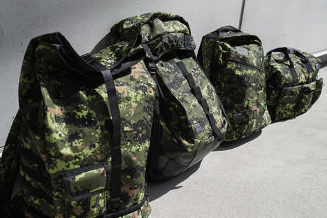 Military-Inspired Accessories - Sully Wong Celebrates the Canadian Military with Fashion