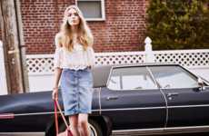 70s-Inspired Summer Fashion - Model Astrid Eika Stars in Shopbop's Hazy Days Editorial