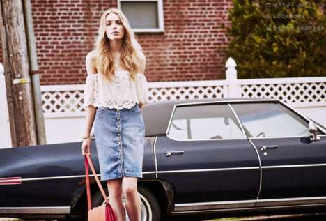 70s-Inspired Summer Fashion - Model Astrid Eika Stars in Shopbop's Hazy Days Editorial