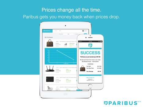 Price Adjustment Platforms - The 'Paribus' Plugin Automatically Fetches the Best Price for Consumers