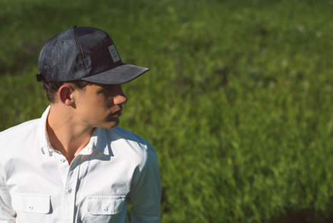 Protective Hipster Headwear - The Herschel Supply Co. Riding Club Collection Offers Sweat-Free Style