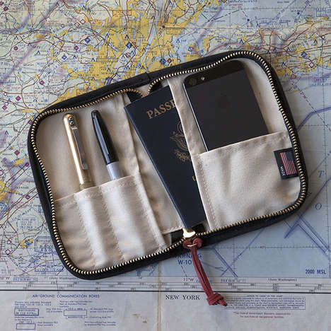 35 Portable Travel Products - From Compact Jet-Setting Pouches to Wrist-Worn Phone Chargers