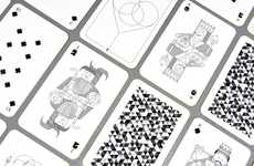 Whimsical Playing Cards - Designer Oksal Yesilok Has Produced a Stunning Deck of Cards