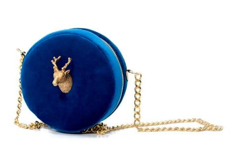 Opulent Animal Handbags - Carla Lopez Creates Custom Clutches With Wildlife-Inspired Elements