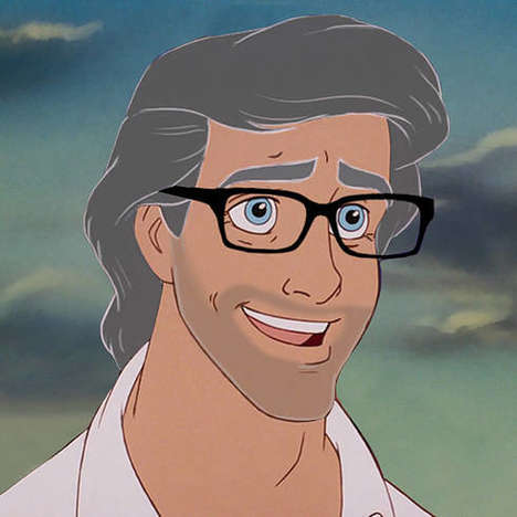 Matured Disney Princes - Dose Imagines How Cartoon Royalty Will Age into Handsome Dads