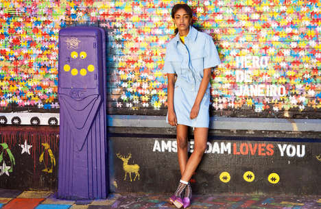 Modern Schoolgirl Fashion - The Ones 2 Watch 'Let The Sunshine' In Story is Vibrantly Hued