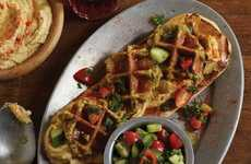 Savory Chickpea Waffles - The Falafel Waffle is the Vegan Way to Eat Breakfast